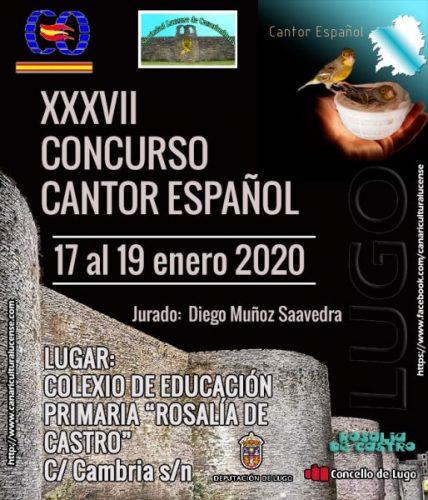 XXXVII concurso cantor Español