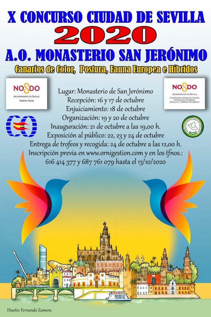 X concurso ciudad de Sevilla 2020 A.O. Monasterio San Jerónimo