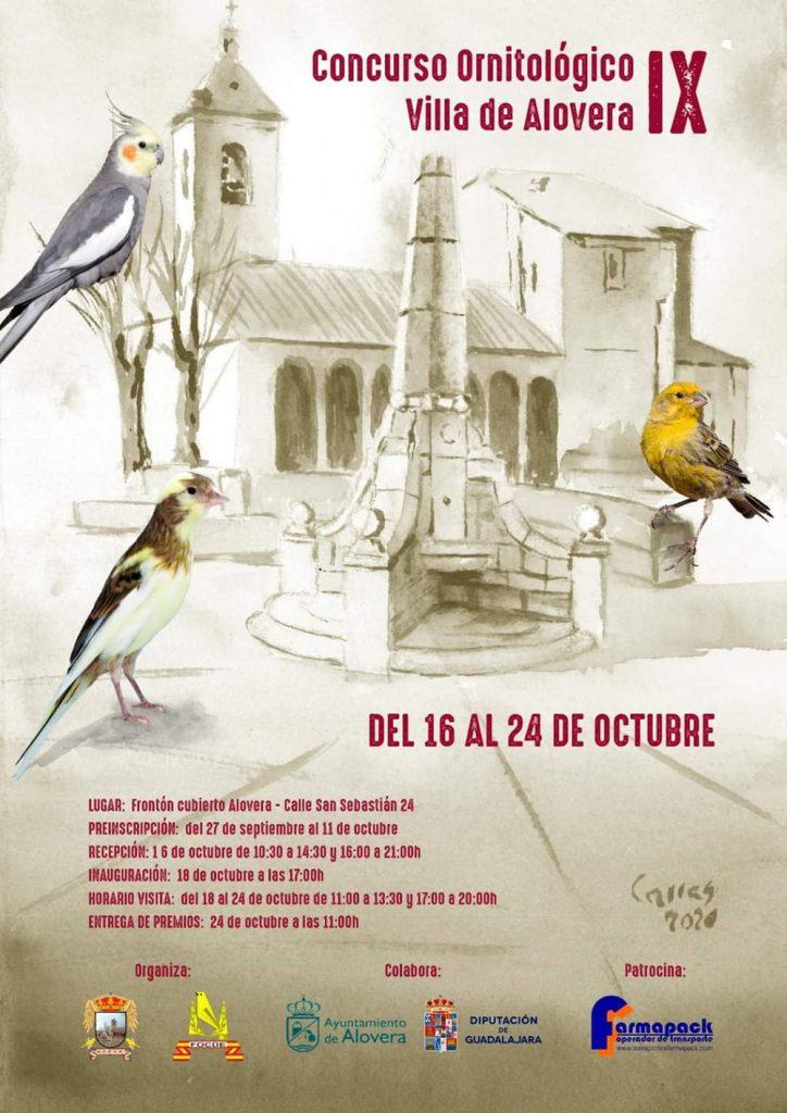 Concurso ornitológico Villa de Alovera IX